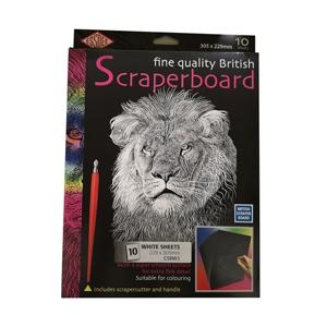 Bilde for kategori Skrapekartong Scraperboard