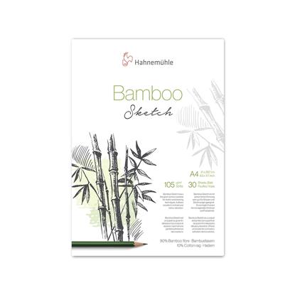 Bilde av Blokk skisse Bamboo 105gr. A4