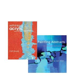 Bilde for kategori Lærebøker akryl, olje og akvarell