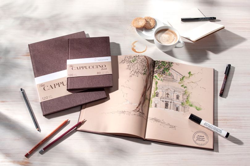 The Cappuccino Book fra Hahnemühle