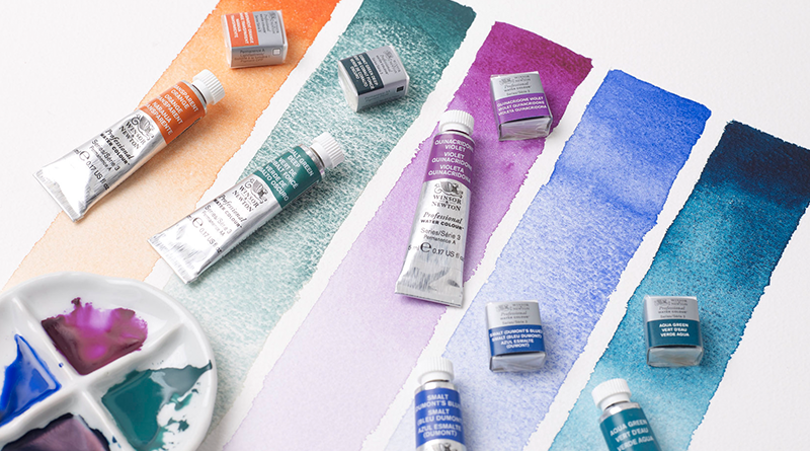 Nye farger fra W&N Professional Water Colour