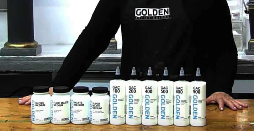 GOLDEN Fluid Acrylic Mediums