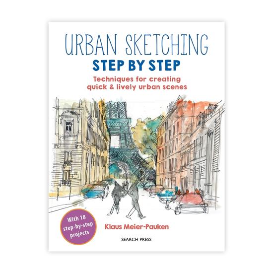 Bilde av Bok Urban Sketching step by step