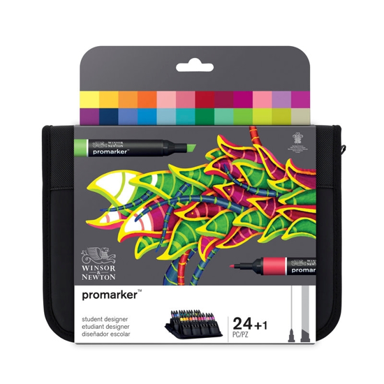 Bilde av Promarker sett 24 Student Designer