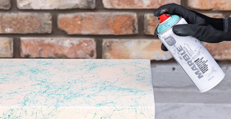 Marble effektspray i nye farger