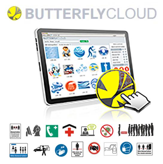 Bilde av CC BUTTERFLY Cloud Årsabonnement