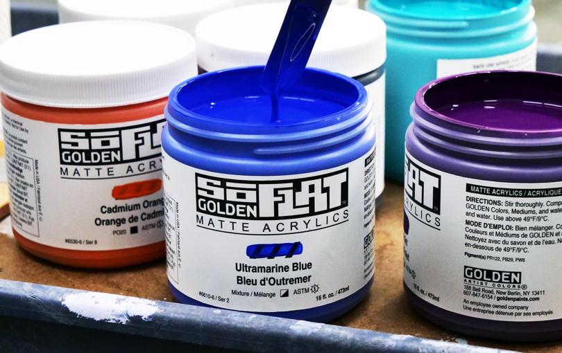 Nyhet! Golden SoFlat - supermatt akrylmaling