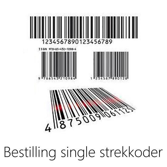 Bilde av MacBarcoda Single Strekkoder pr. stk
