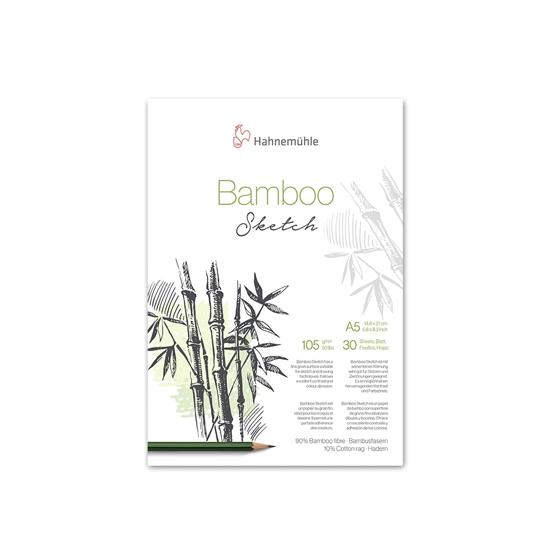 Bilde av Blokk skisse Bamboo 105gr. A5