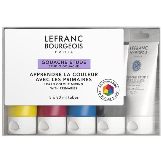 Bilde av LB sett Study Gouache, primærfarger