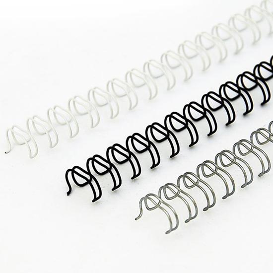 Bilde av Stålspiral 25,4mm Hvit