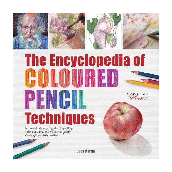 Bilde av Bok The Encyclopedia of Coloured Pencil Techniques