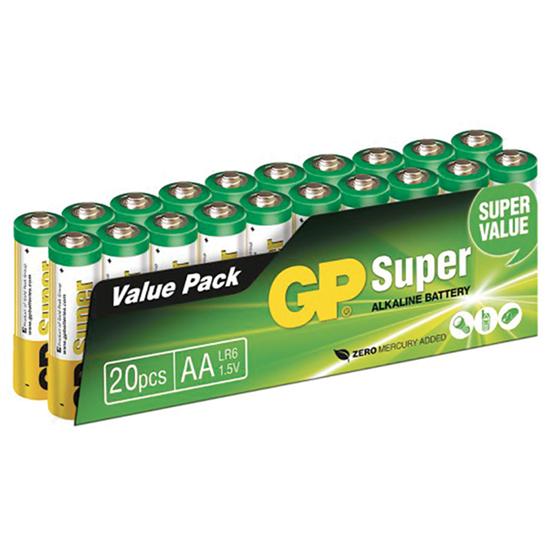 Bilde av Batteri 1,5V AA LR6 GP Super