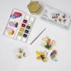 WN sett Cotman Floral Pocket